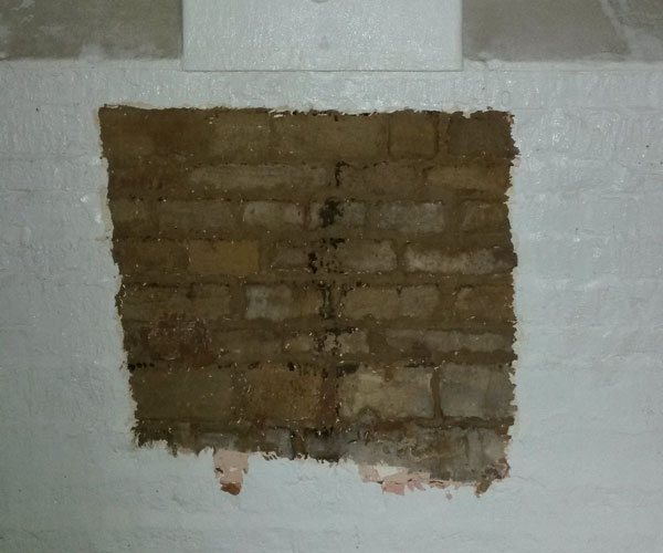 Doff paint removal on wall